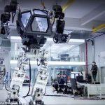 """韩国机器人""""METHOD-1"""""""